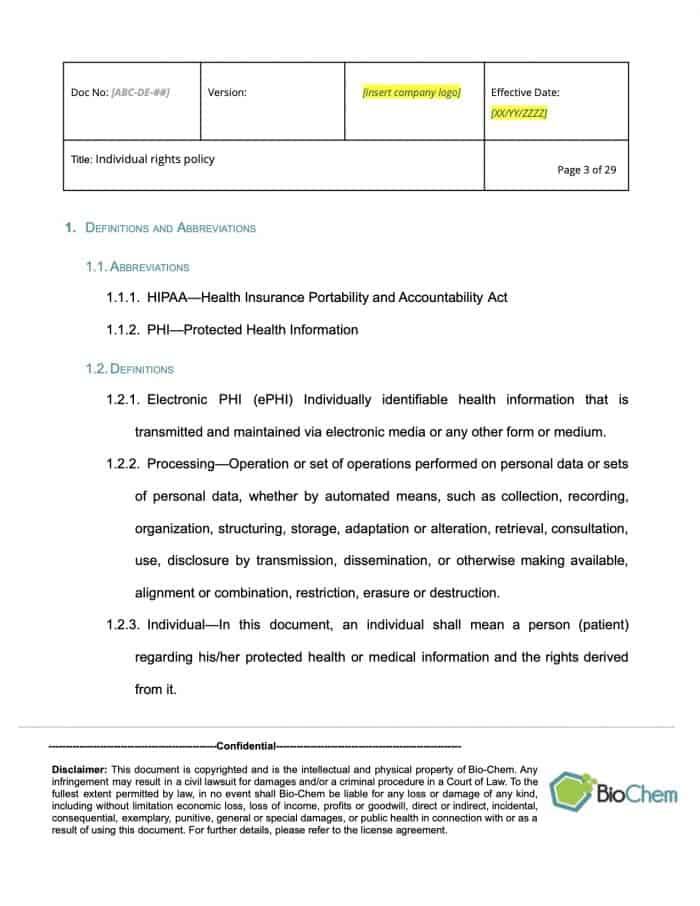 Individual rights_BioChem_ISMS template preview 3